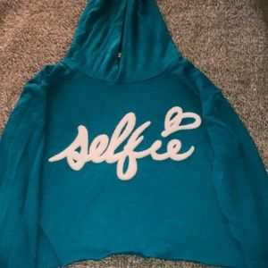 Juicy Couture Cropped Hoodie